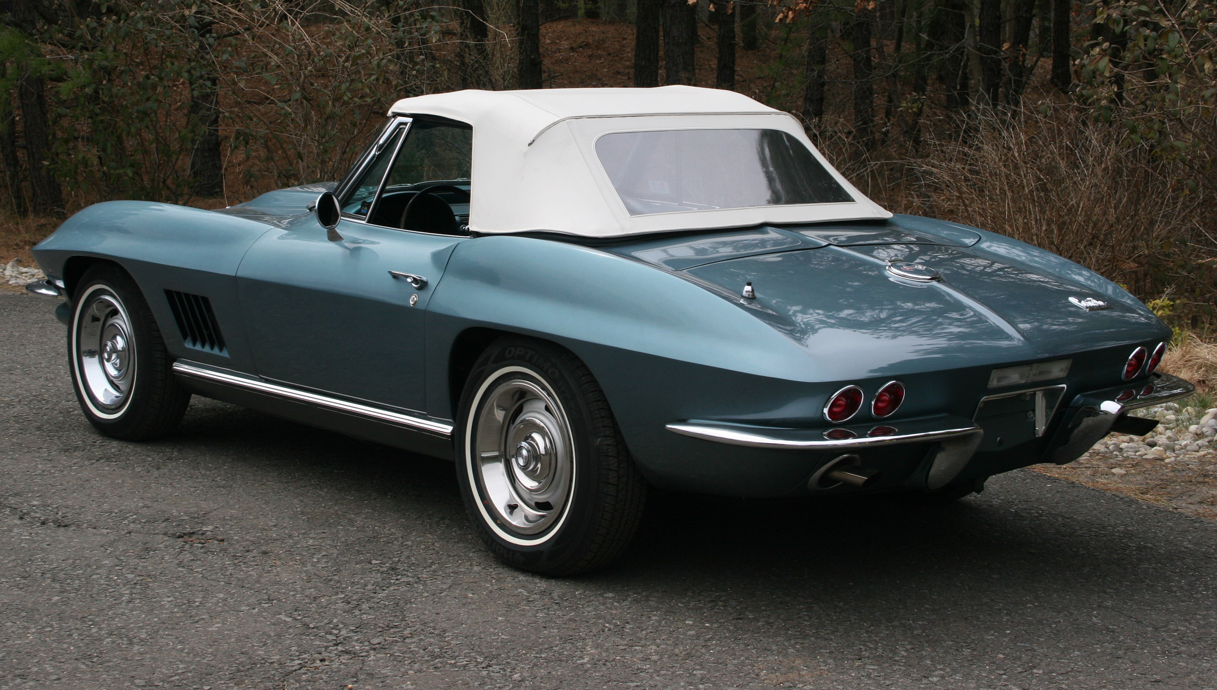 1967 Corvette Convertible 327 350 Lyndale Blue Billy